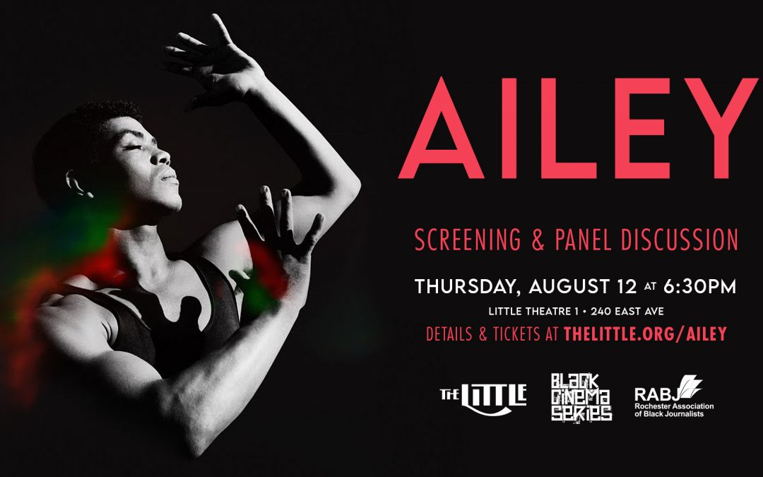 """""""Ailey"""" Screening and Panel Discussion – August 12, 2021"""