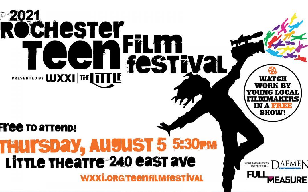 Teen Film Festival – August 5, 2021